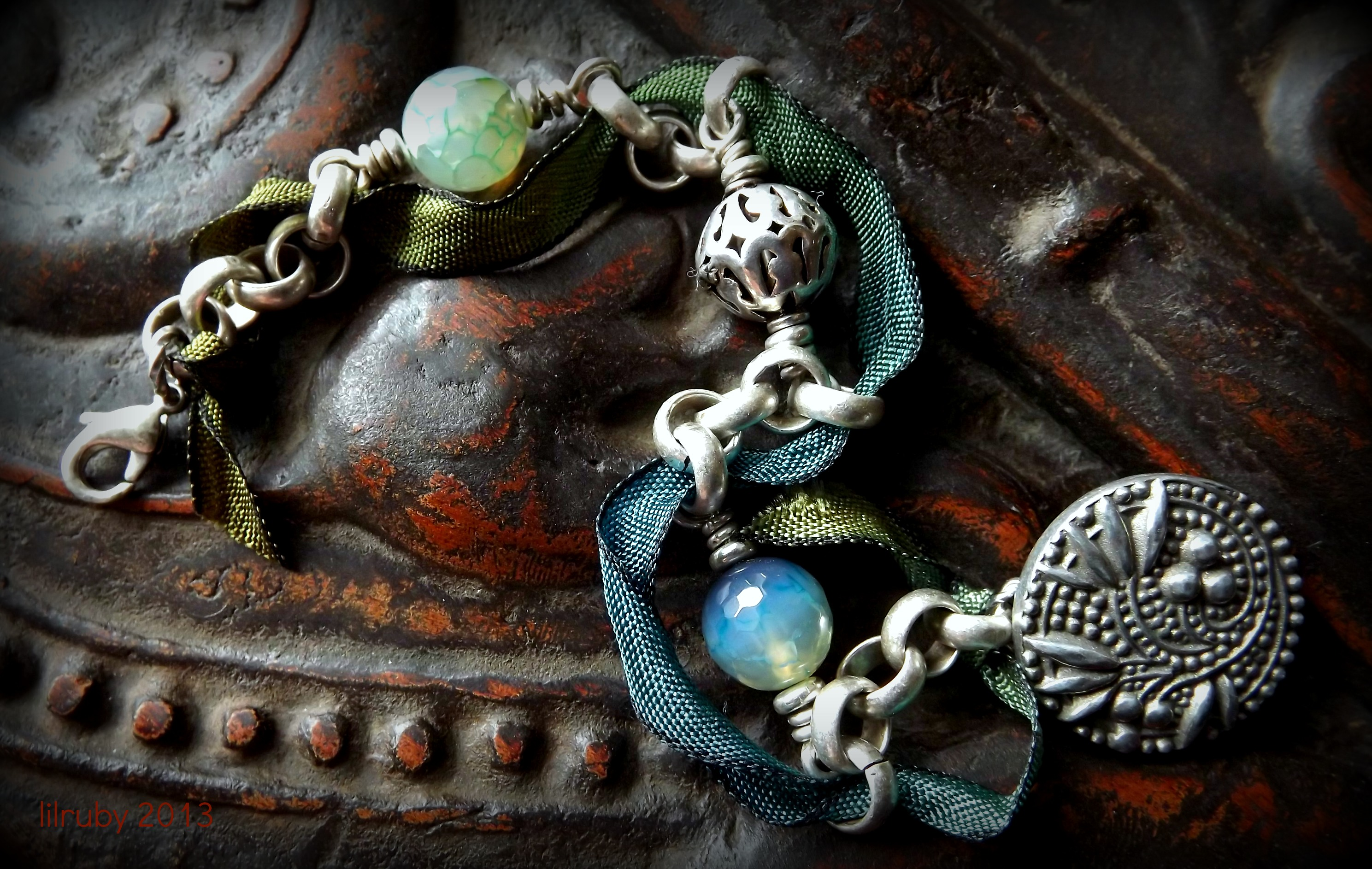 mint real painted products img baculum necklace original ombr on storenvy ombre raccoon bone